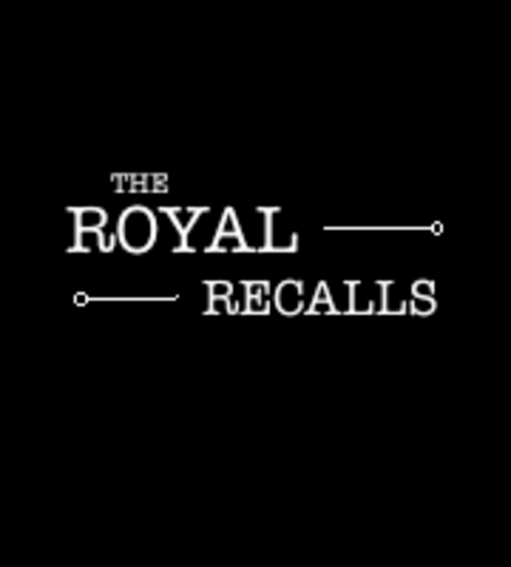 The Royal Recalls Tour Dates