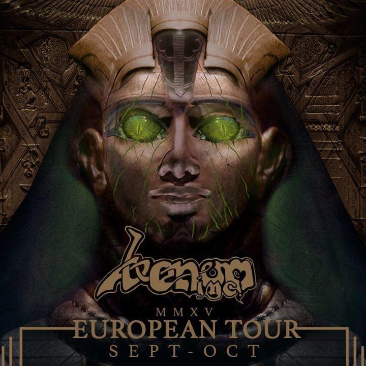 Iron+Steel, Venom Inc Tour Dates