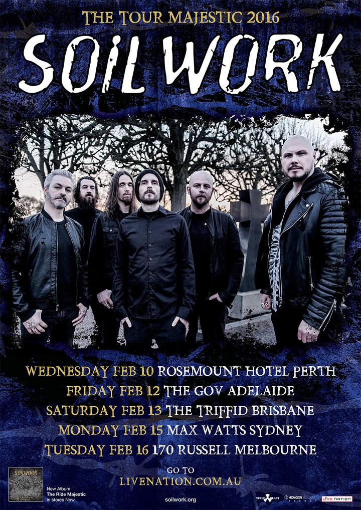 Soilwork Tour