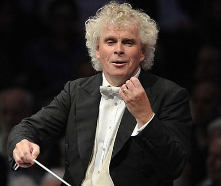 Sir Simon Rattle @ Philharmonie de Paris - Paris, France