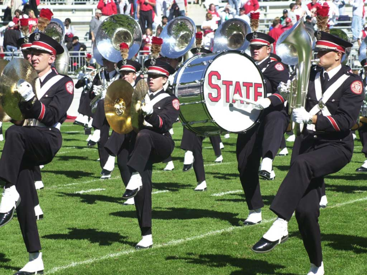 Ohio State University Marching Band Tour Dates