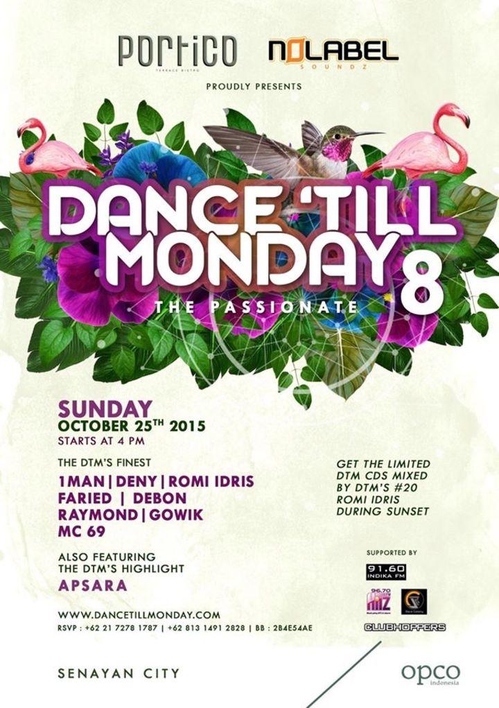 DJ Apsara @ Dance Til Monday - Jakarta, Indonesia