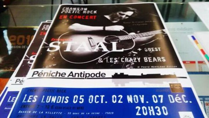 François Staal Tour Dates
