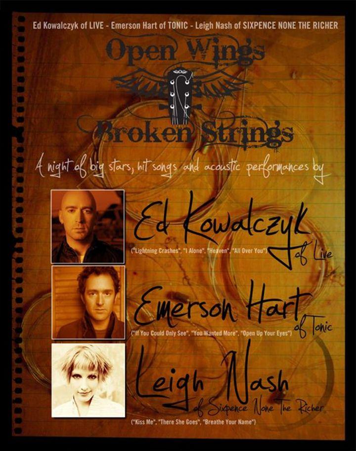 Open Wings Broken Strings Tour Dates