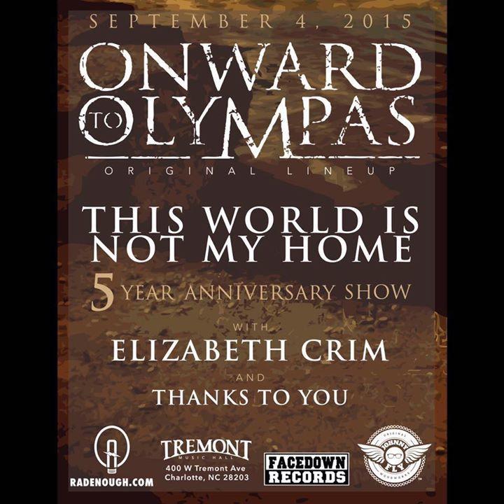 Onward to Olympas @ Chameleon Club - Lancaster, PA