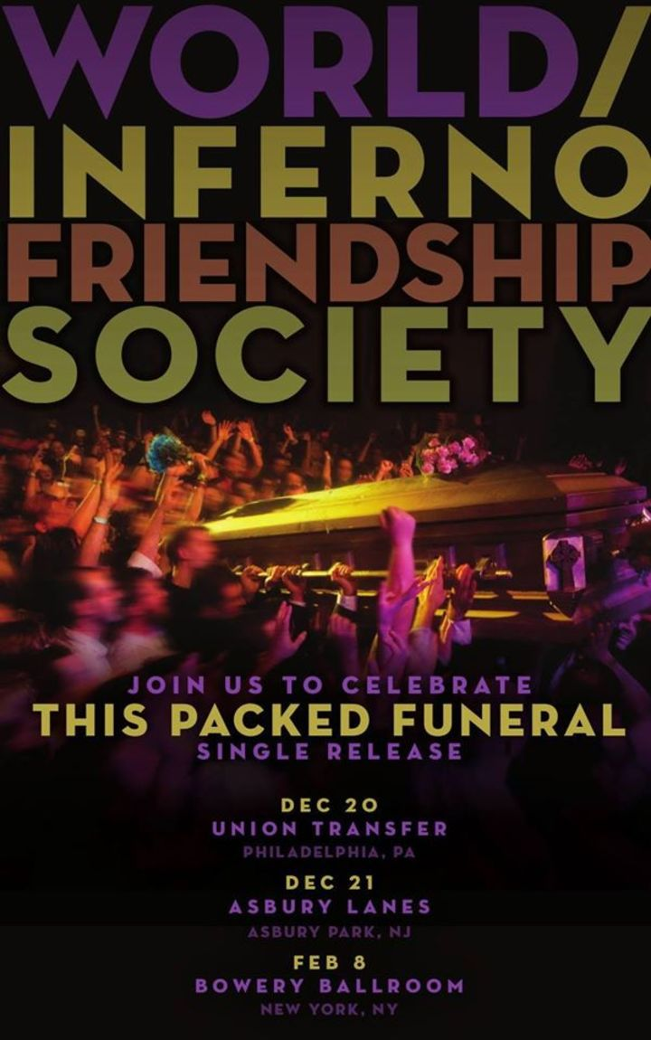 The World/Inferno Friendship Society @ The Orpheum - Tampa, FL