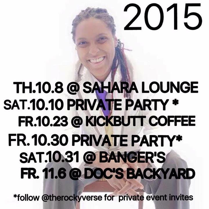 Therockyverse Tour Dates