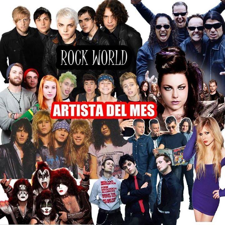 Rock world Tour Dates