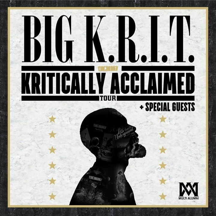 Big K.R.I.T. @ Bill Graham Civic Auditorium - San Francisco, CA