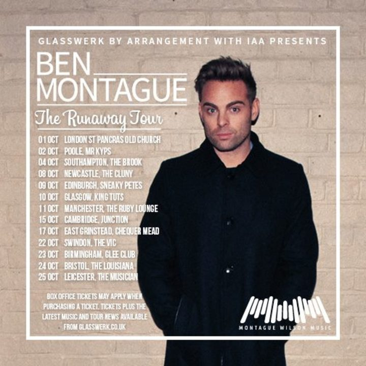 Ben Montague @ Worthing Assembly Hall - Worthing, United Kingdom