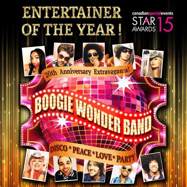 Boogie Wonder Band @ Theatre du Casino du Lac-Leamy - Gatineau, Canada