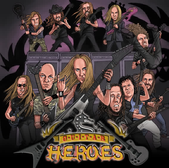 Guitar Heroes Tour Dates
