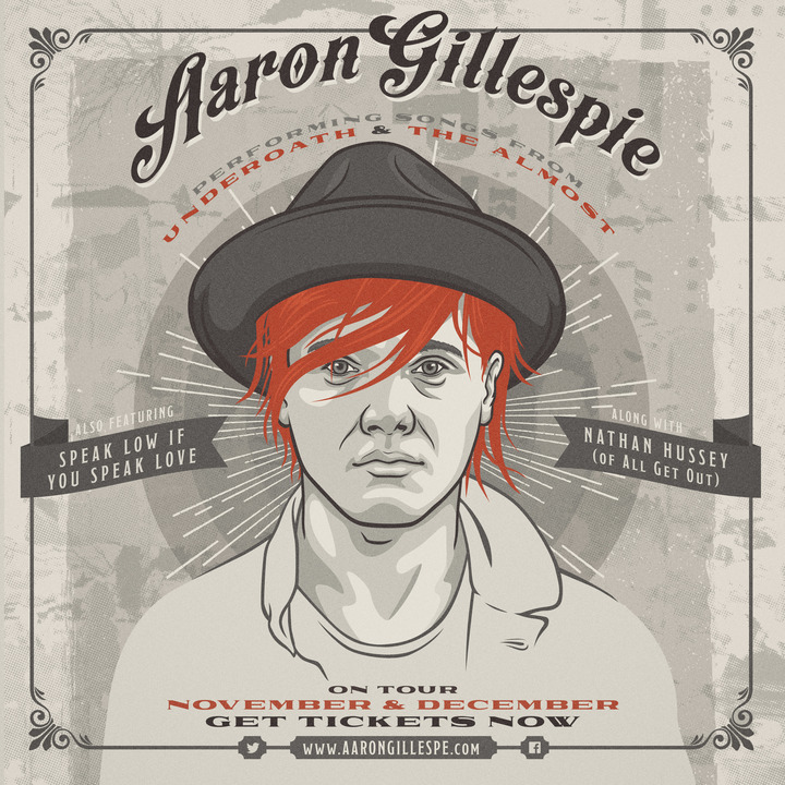 Aaron Gillespie Tour Dates