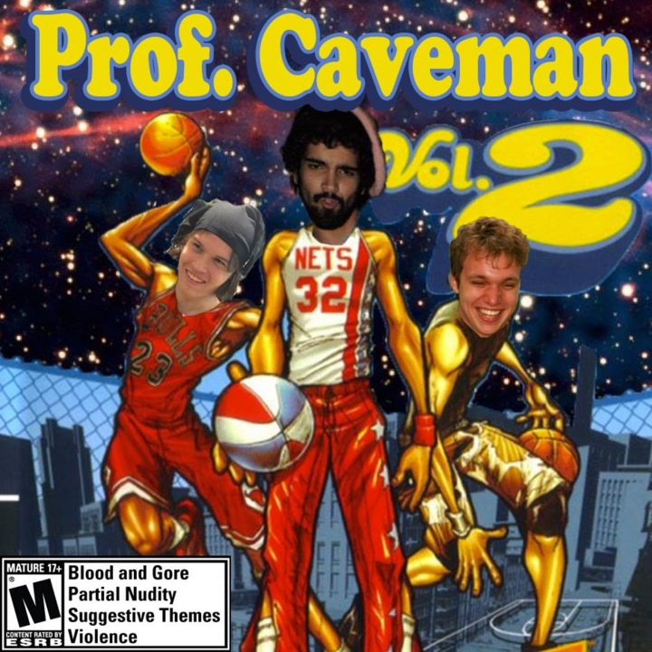 Professor Caveman Tour Dates