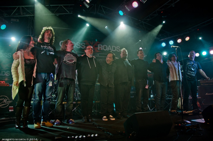 Steve Rothery Band @ Knust - Hamburg, Germany