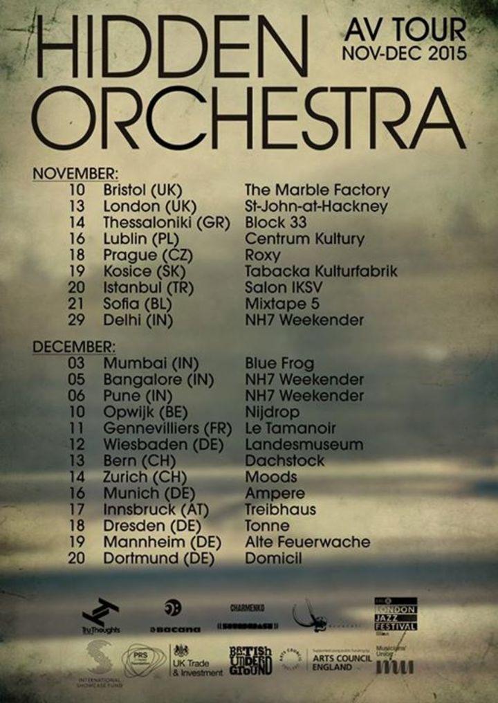 Hidden Orchestra @ Scala - London, United Kingdom