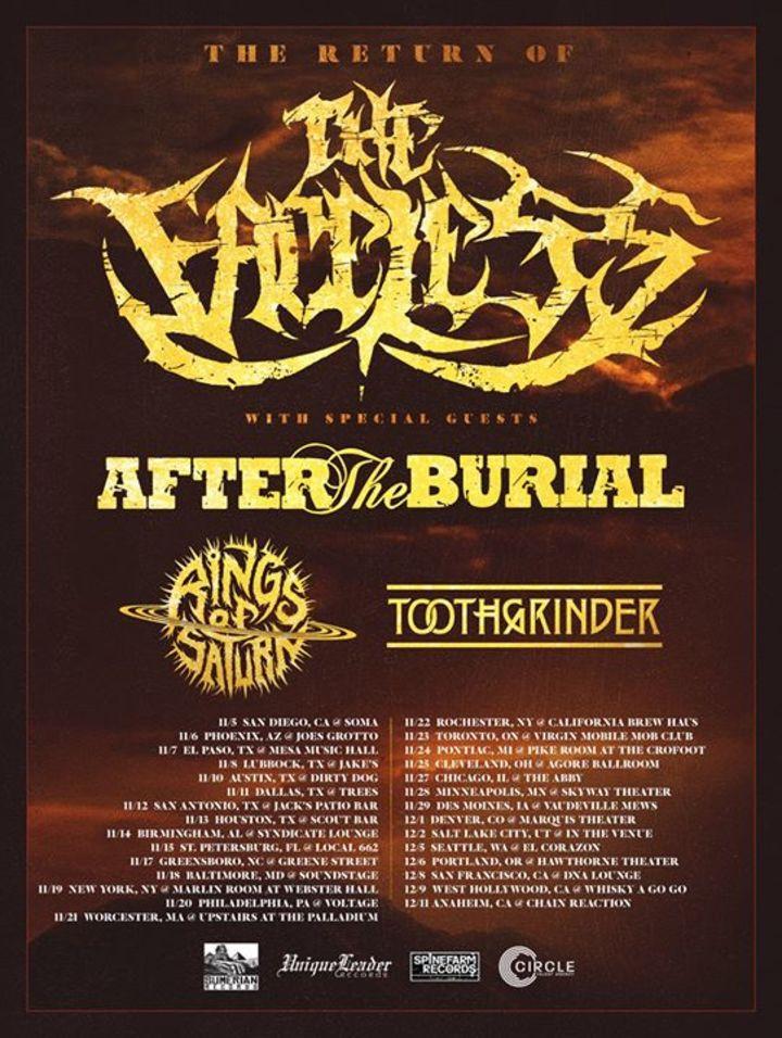 The Faceless Tour Dates