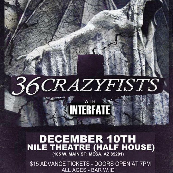 Interfate @ The Nile Theater - Mesa, AZ