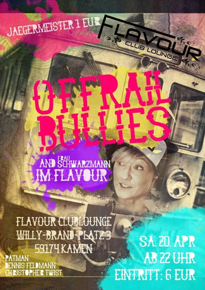 Offrail-Bullies Tour Dates
