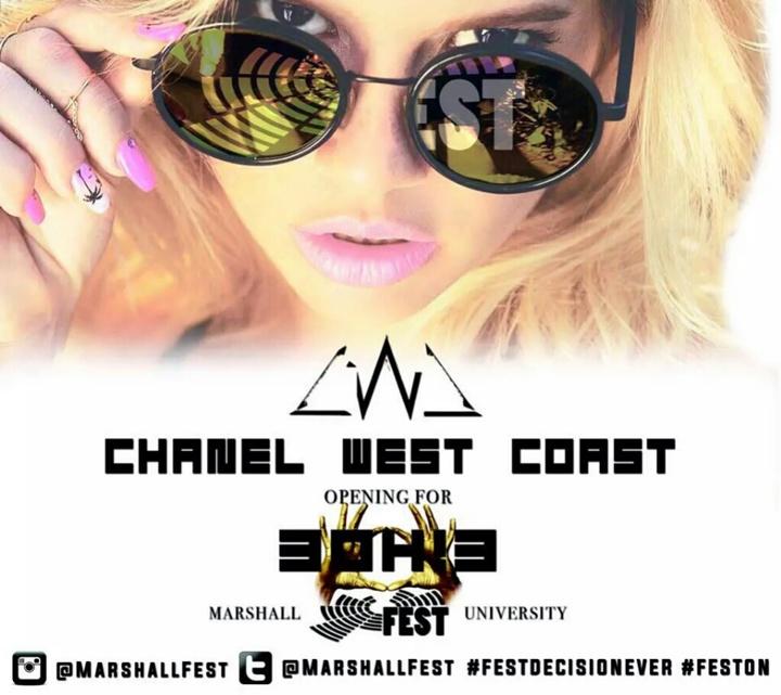 Official: Chanel West Coast Tour Dates