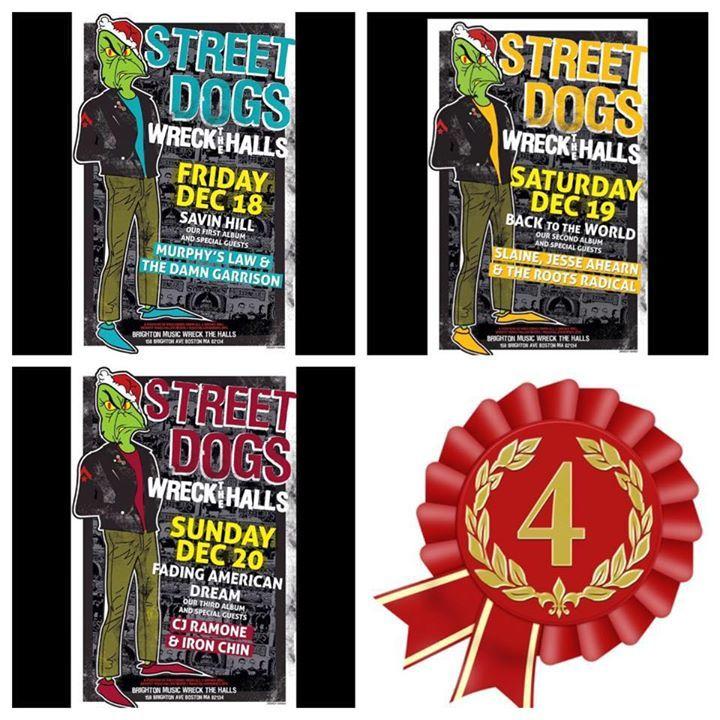 Street Dogs @ Great Scott - Allston, MA