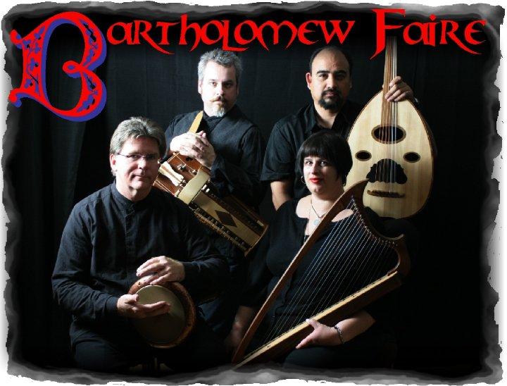 Bartholomew Faire Tour Dates