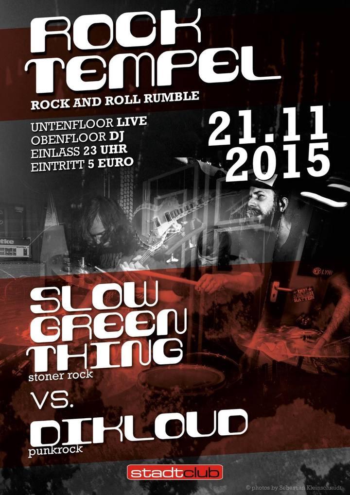SLOW GREEN THING @ stadtclub - Freiberg, Germany
