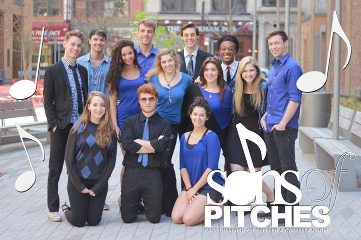 Pace University Sons of Pitches Tour Dates