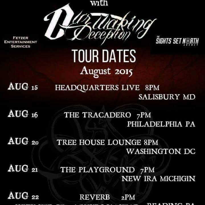 Our Waking Deception @ The Backstage at Championship Bar - Trenton, NJ
