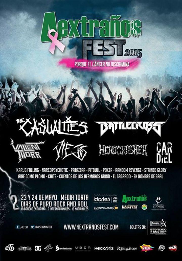 4 Extraños Fest Tour Dates