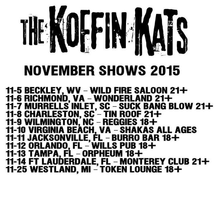 Koffin Kats @ The Korova - San Antonio, TX