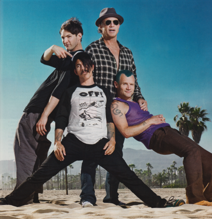 Red hot chili peppers tour dates in Sydney