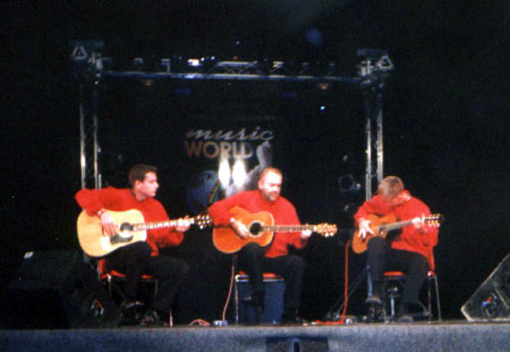 Trio Balkan Strings @ Johann-pölz-halle - Amstetten, Austria