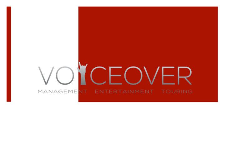 Voice Over Management, Entertainment & Touring Tour Dates
