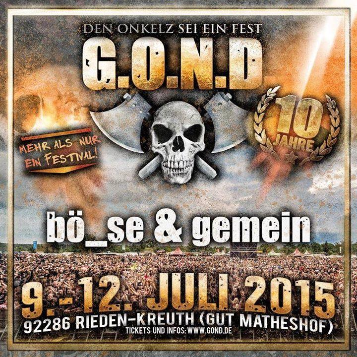 BÖHSE & GEMEIN Tour Dates