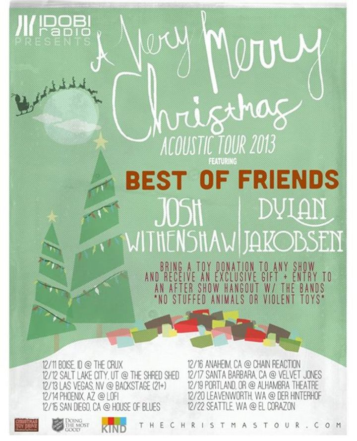 A Very Merry Christmas Acoustic Tour Tour Dates