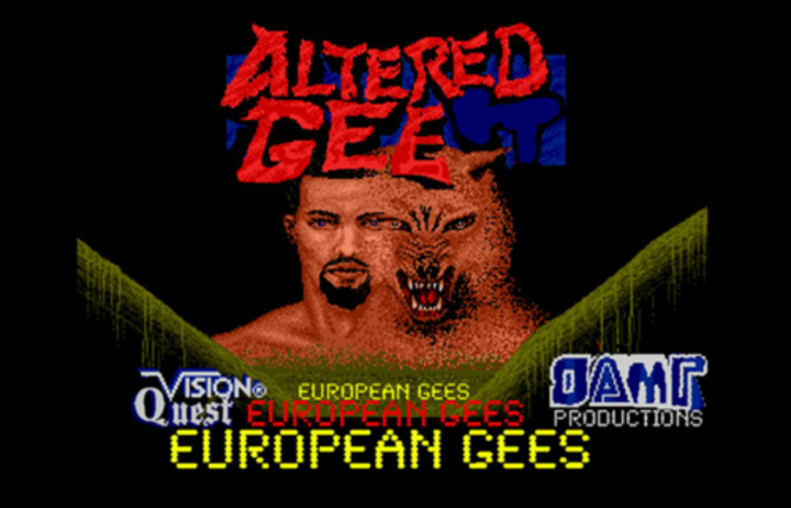 Altered Gee Tour Dates