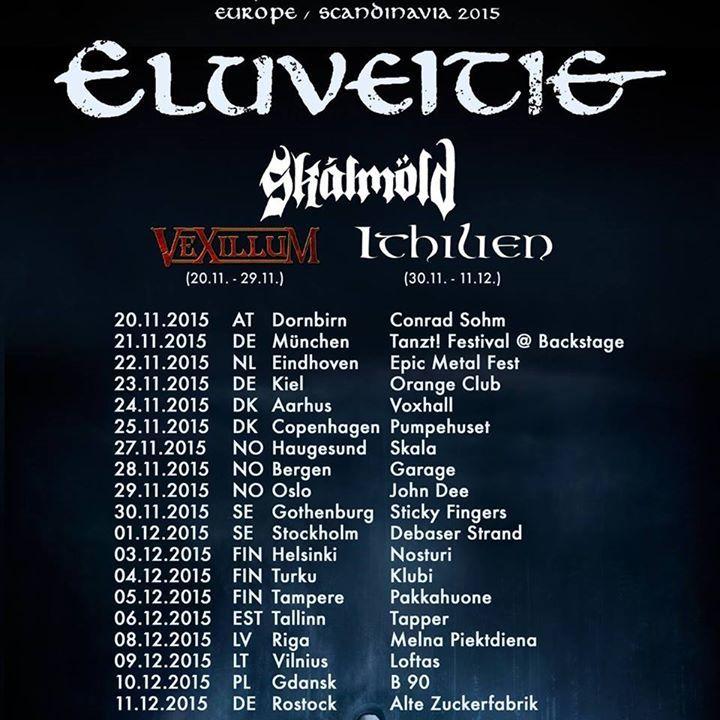 Eluveitie @ Slowianin - Szczecin, Poland