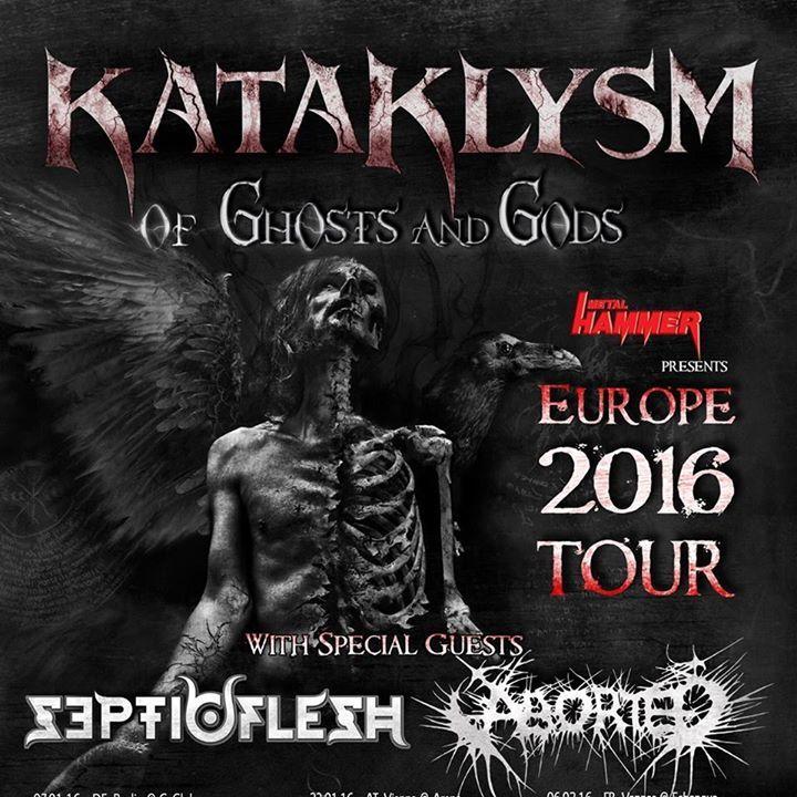 Kataklysm @ Music Hall - Geiselwind, Germany