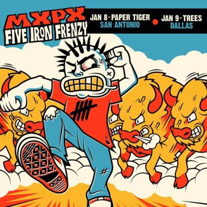 MxPx Tour Dates