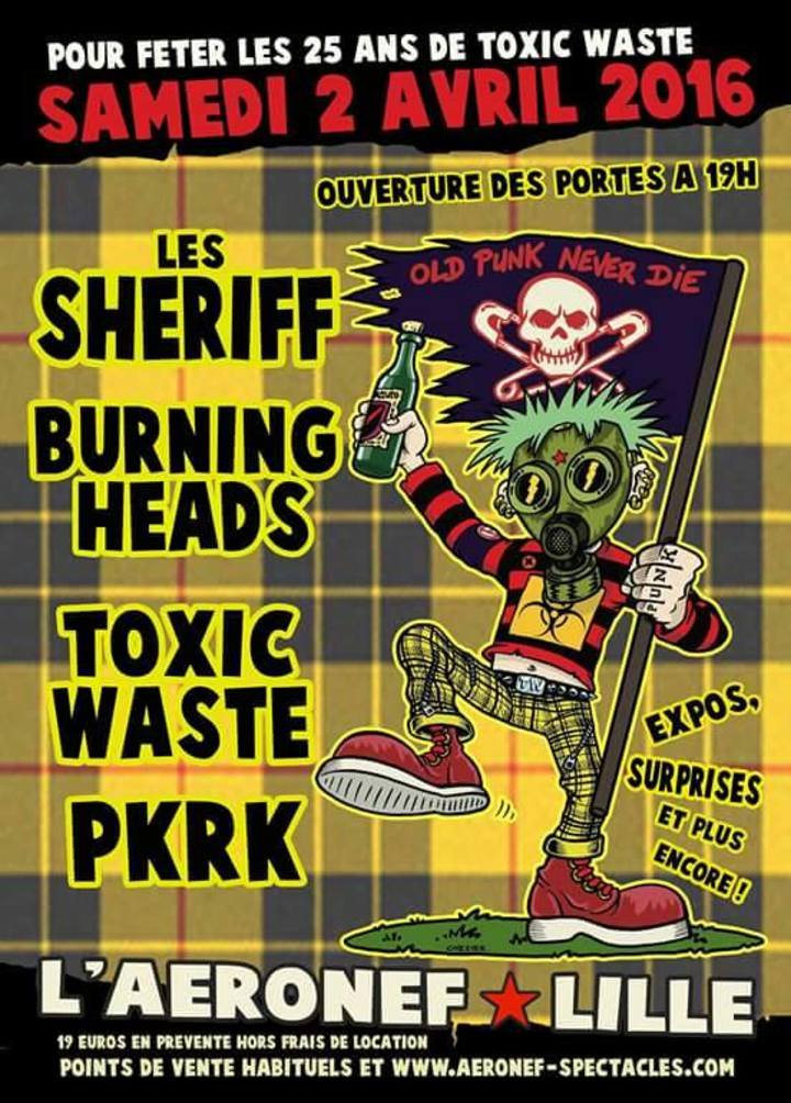 Toxic Waste @ L'Aeronef - Lille, France