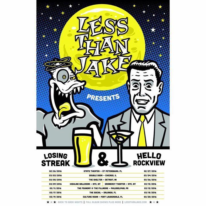 Less Than Jake @ O2 ABC Glasgow - Glasgow, United Kingdom