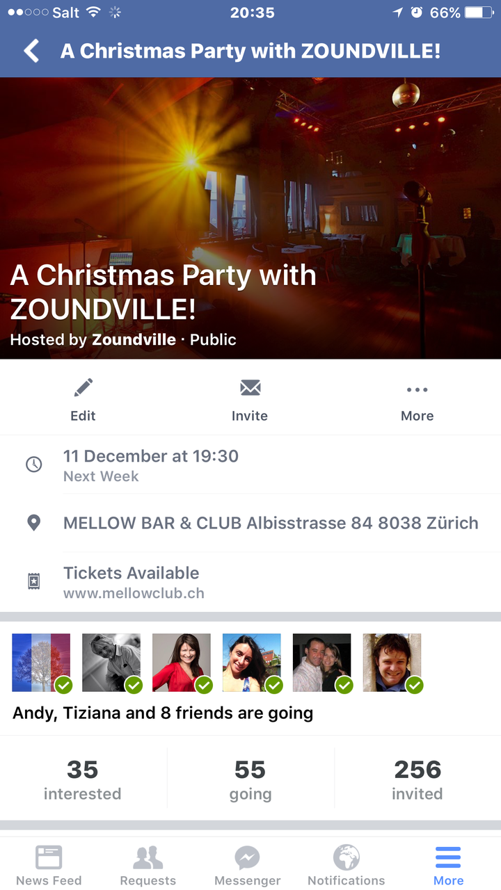 Zoundville @ Mellow Bar - Zurich, Switzerland