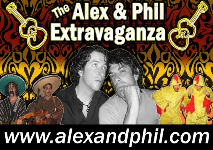 The Alex and Phil Extravaganza Tour Dates