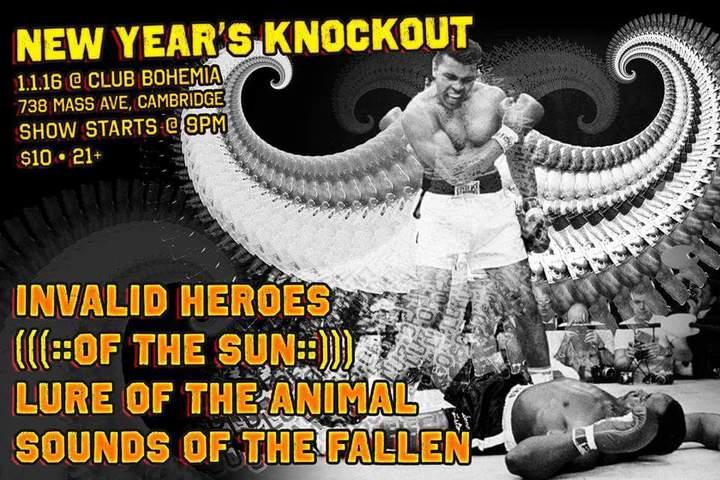 Invalid Heroes @ Club Bohemia 738 Mass Ave - Cambridge, MA