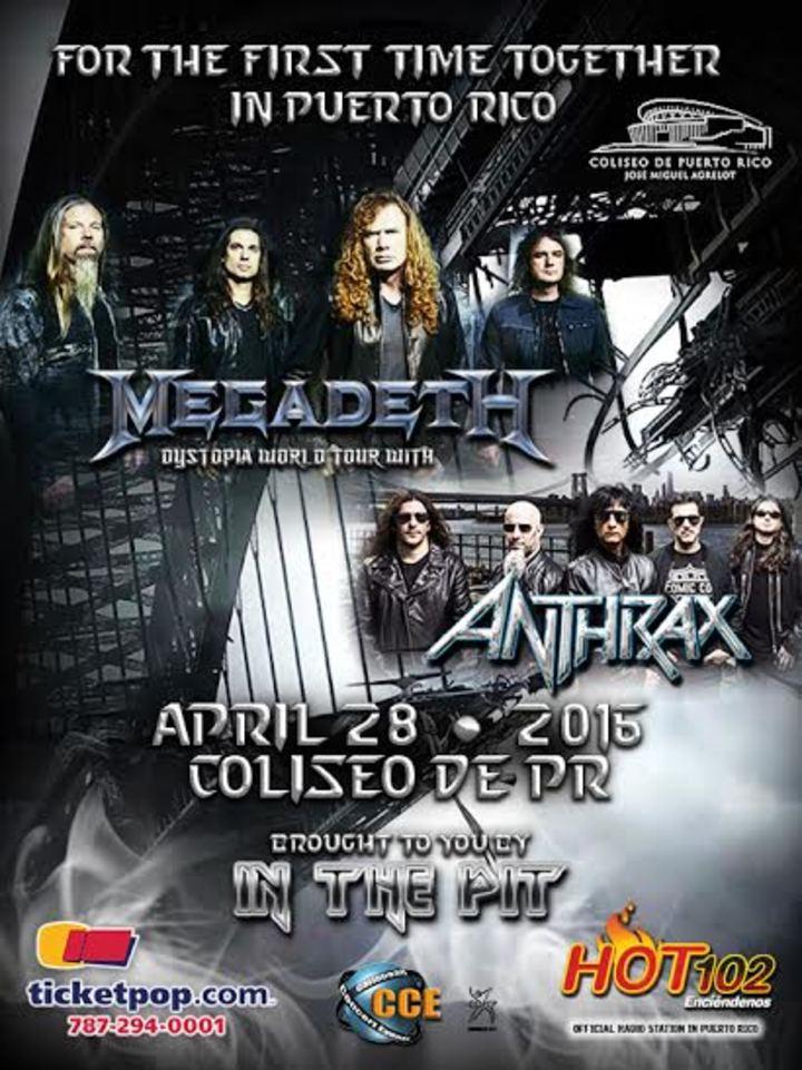 Anthrax @ Coliseo  - San Juan, PR