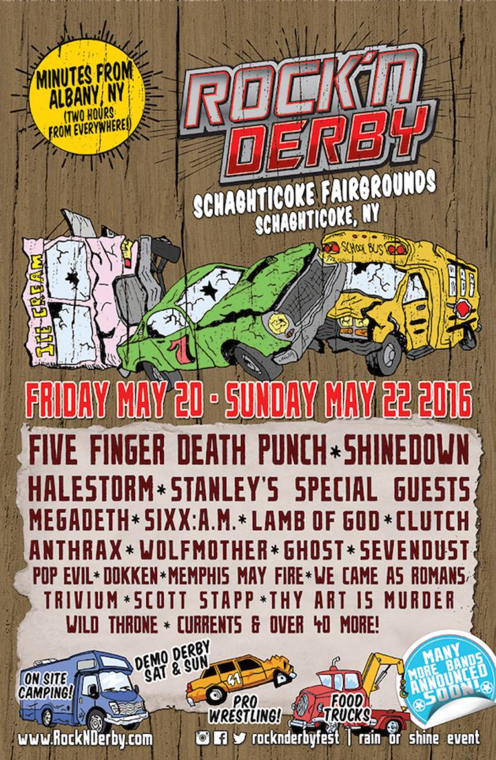 Anthrax @ Schagticoke Fairgrounds - Schaghticoke, NY