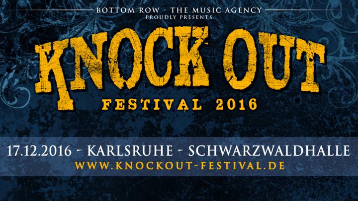KNOCK OUT FESTIVAL @ Schwarzwaldhalle - Karlsruhe, Germany
