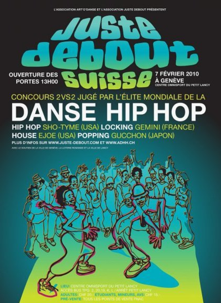 JUSTE DEBOUT @ Paradiso Grote Zaal - Amsterdam, Netherlands