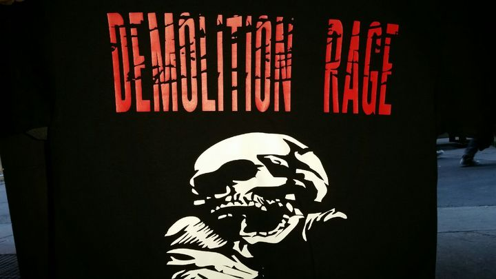 Demolition Rage Tour Dates